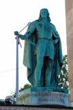 Staty av Francis II Rakoczi i Budapest, Ungern Royaltyfria Bilder