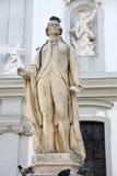 Staty av Franz Joseph Haydn i Wien Royaltyfri Fotografi