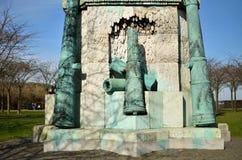 Staty av frihet i Danmark royaltyfri foto