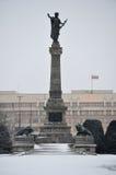 Staty av frihet i list Royaltyfri Fotografi