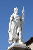 Staty av frihet i San Marino Arkivbilder