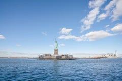 Staty av frihet, New York City Arkivfoto
