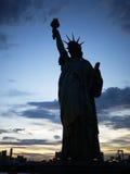 Staty av frihet på Odaiba, Tokyo Arkivfoto