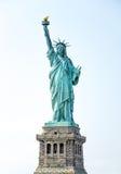 Staty av frihet på sockel Royaltyfri Foto