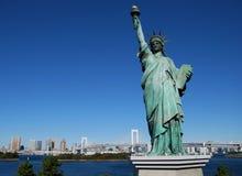 Staty av frihet, Tokyo Royaltyfria Bilder