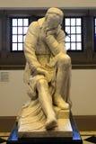 Staty av Galileo Galilei i universitetet för drottning` s, Belfast, inte royaltyfri foto