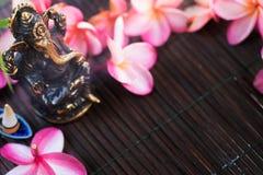 Staty av Ganesha den indiska Hinduismguden Royaltyfri Fotografi