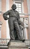 Staty av Garibaldi i Pisa Royaltyfri Fotografi