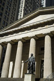 Staty av George Washington, federala Hall, New York City Royaltyfria Foton