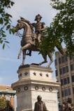 Staty av George Washington på utkanten av Washington DC USA Royaltyfri Foto