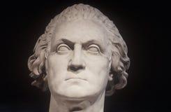 Staty av George Washington som en romare av Horatio Greenough, 1840, Smithsonian institut, Washington, DC Arkivbilder