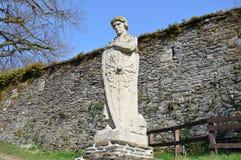Staty av Godfrey av buljong Fotografering för Bildbyråer
