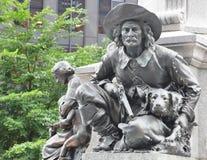 Staty av gränsmannen Royaltyfri Fotografi