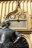 Staty av greven av det Pembroke Bodleian arkivet Royaltyfri Bild