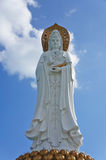 Staty av Guanyin Royaltyfria Foton