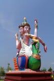 Staty av guden Fotografering för Bildbyråer