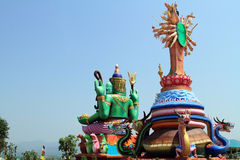 Staty av guden Royaltyfri Fotografi