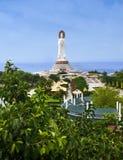 Staty av gudinnan Guanyin Royaltyfri Fotografi