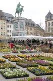 Staty av Guillaume II i Luxembourg Royaltyfri Foto