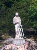 Staty av helgonet Lawrence, St Lawrence River CA Royaltyfri Fotografi
