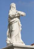 Staty av heliga Anna Arkivfoton