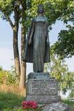 Staty av infantaen Christina, Tonsberg - Norge arkivbilder