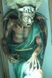 Staty av jäkeln Arkivbild