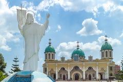 Staty av Jesus Royaltyfri Fotografi
