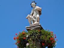 Staty av Jesus Christ Royaltyfri Bild