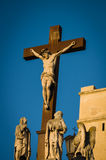 Staty av Jesus Christ Avignon, Frankrike Royaltyfri Foto