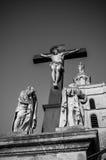 Staty av Jesus Christ Avignon, Frankrike Royaltyfria Foton