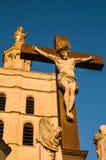 Staty av Jesus Christ Avignon, Frankrike Royaltyfri Bild