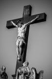 Staty av Jesus Christ Avignon, Frankrike Arkivbild