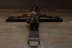 Staty av Jesus Christ - son av guden Royaltyfri Fotografi