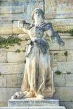Staty av Joan av bågen i Avignon, Frankrike Fotografering för Bildbyråer