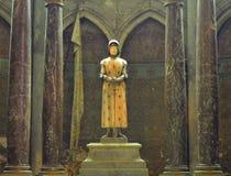 Staty av Joan av bågen Arkivbild