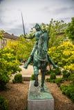 Staty av Johanna av Orleans som är bekant som Jeanne D `-båge Fotografering för Bildbyråer