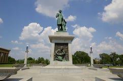 Staty av John W Thomas i hundraårsjubileum parkerar, Nashville Tennessee Royaltyfri Fotografi