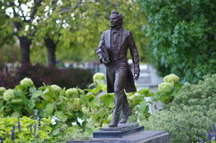 Staty av Joseph Smith Jr Arkivfoton