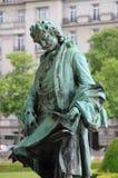 Staty av Jules Hardouin Mansart Arkivbild