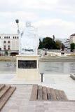 Staty av Justinian storen Arkivbild