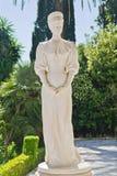Staty av kejsarinnan Elisabet av Bayern Fotografering för Bildbyråer