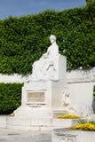 Staty av kejsarinnan Elizabeth på Volksgarten circa vienna Royaltyfri Foto
