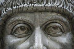 Staty av kolossen av Constantine det stort i Rome, Italien Royaltyfri Bild