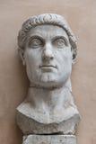 Staty av kolossen av Constantine det stort i Rome, Italien Royaltyfri Foto