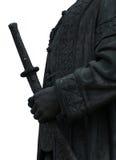 Staty av konungen Arkivbilder