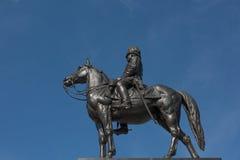 Staty av konungen av Thailand Royaltyfria Bilder