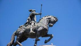 Staty av konungen João I Fotografering för Bildbyråer