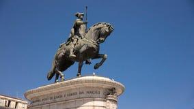 Staty av konungen João I Arkivbilder