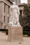 Staty av konungen Louis XVI i Louisville, Kentucky Arkivbild